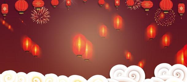 元宵节banner背景