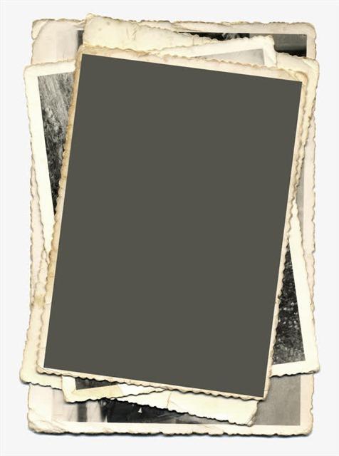 复古照片相框纸
