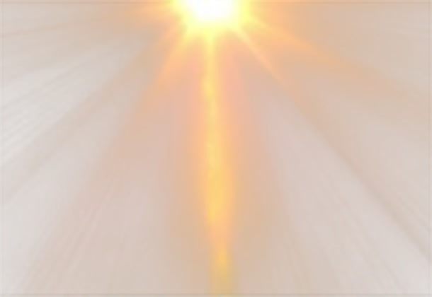 太阳光束效果图