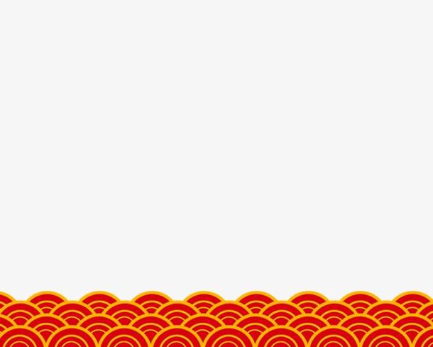 春节红色中国风边框