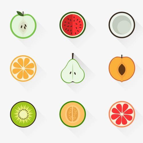 水果切图图标