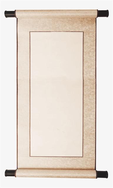 中国风古典卷轴边框