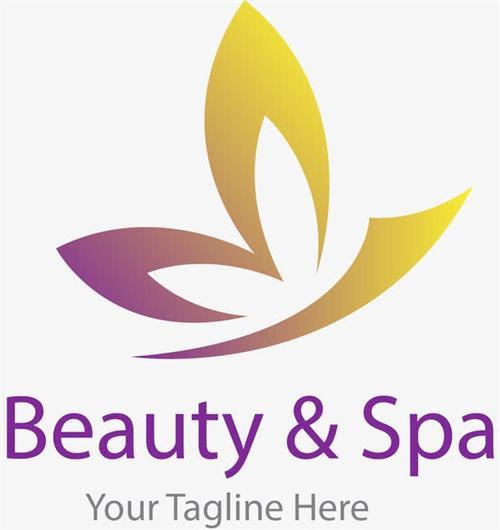 美容spa图标logo设计
