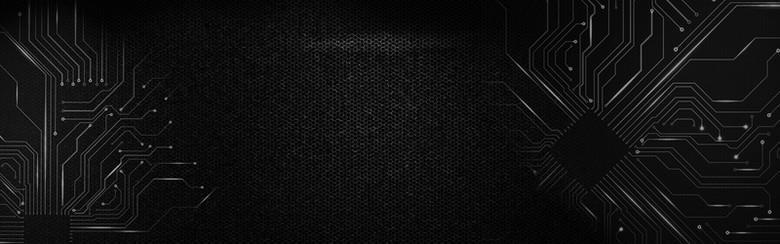 纹理质感科技banner背景