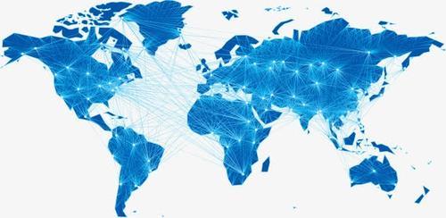科技感星光地图