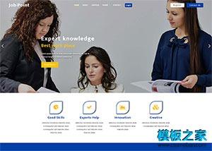 职场HR人力资源公司网站模板