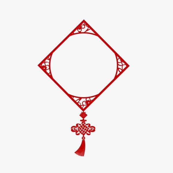 中国结中式画框装饰