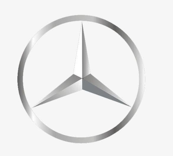 奔驰logo图片