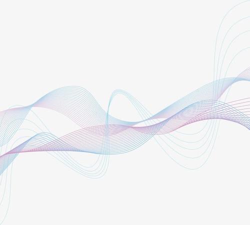 科技动感线条矢量元素