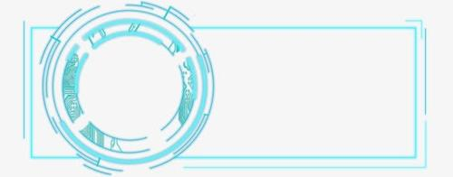 科技感矩形边框