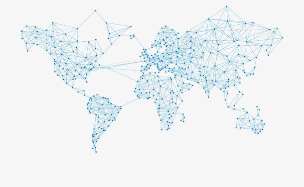 点线科技世界地图
