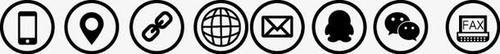 微信电话手机地址名片小图标