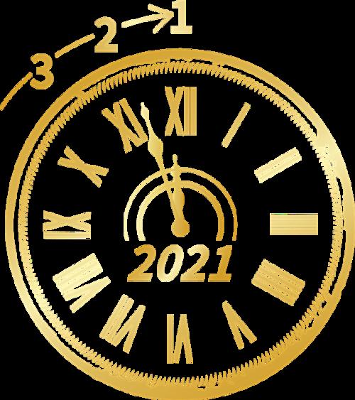 2021年跨年倒计时时钟