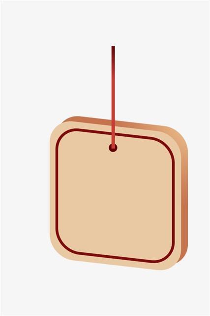 新年吊牌装饰
