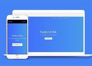 Bootstrap4工具UI套件合集网站模板