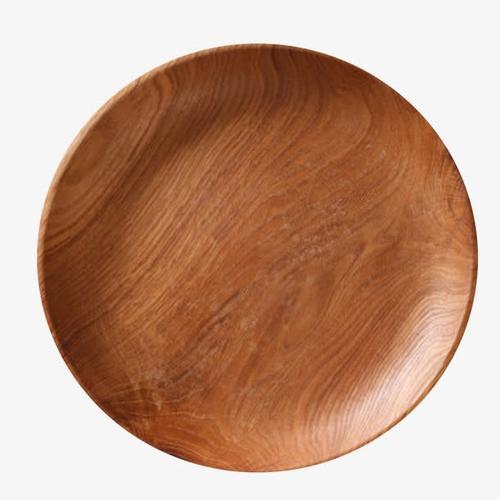 一个木质圆盘