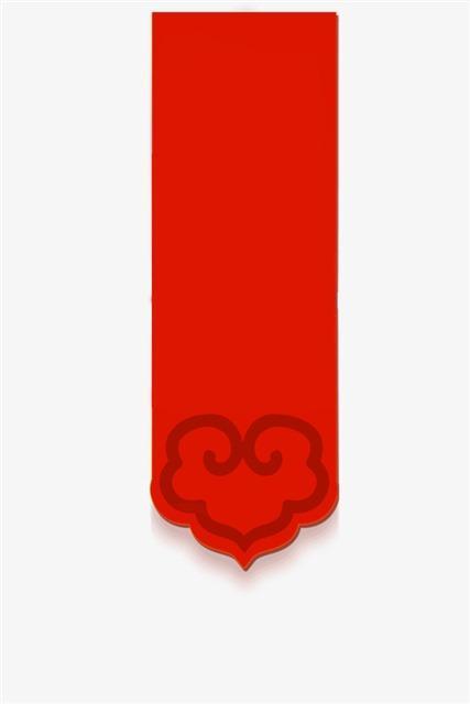 红色吊旗装饰