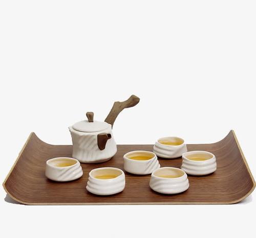 整套茶具产品实物免抠