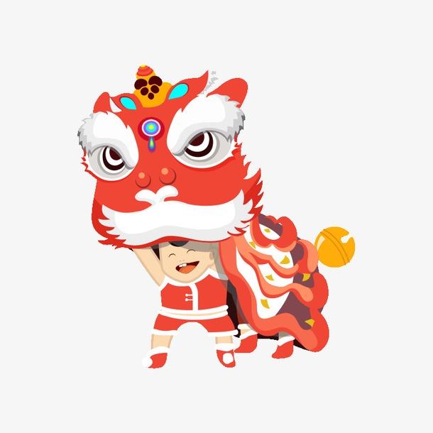 新年节日插画图片