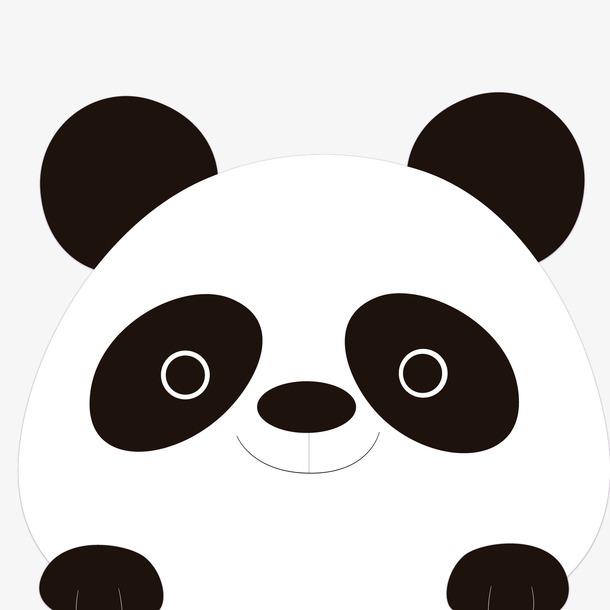 可爱卡通熊猫头像