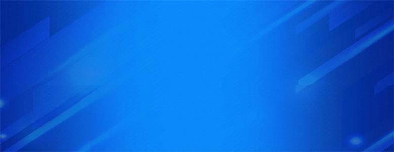 蓝色渐变几何背景