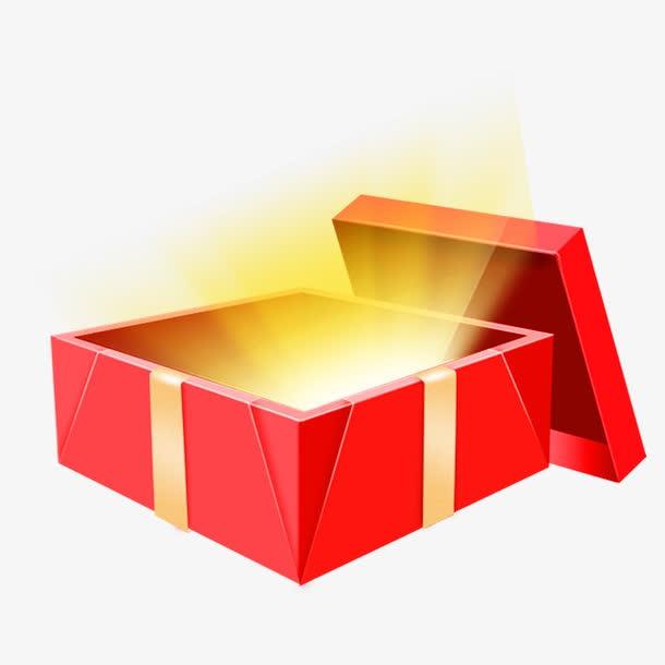 神秘大礼礼物盒子