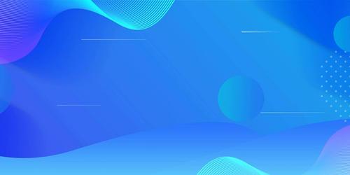 蓝色流体渐变背景