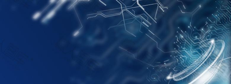 电路板科技背景图