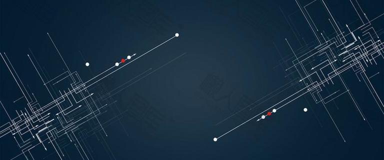 蓝色科技电子商务背景图