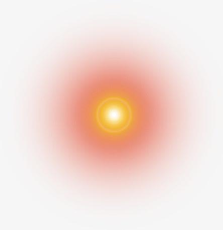 红色太阳光光晕