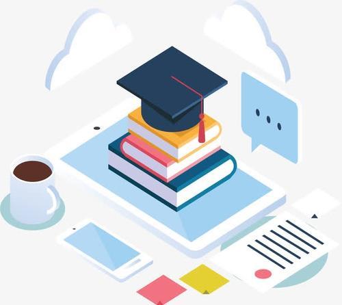 教育行业25D插画