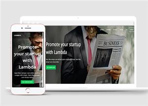 国外高级商务企业网站模板
