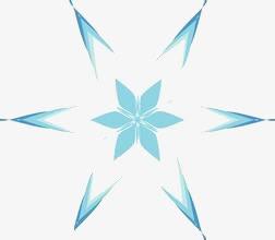五角星花瓣免抠素材