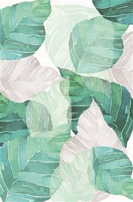 森系植物叶子背景
