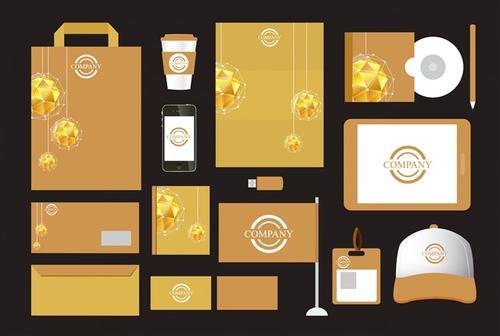 食品包装样机vi设计