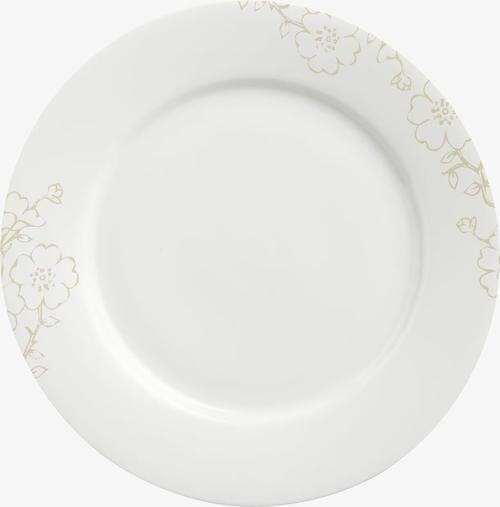 古典花纹盘子