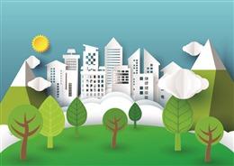 城市自然背景图