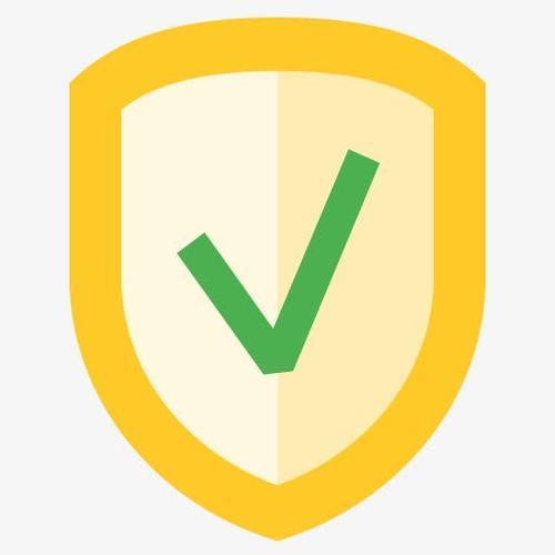 安全护盾卡通图标