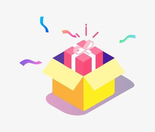 礼物盒电商图片素材