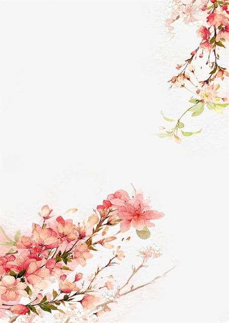 古风唯美花枝图片