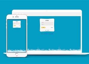会员登录UI界面设计