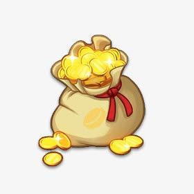金币钱袋子图片