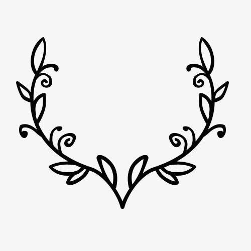 橄榄枝花纹装饰