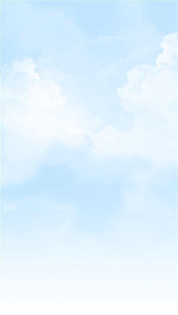 清新蓝天底图背景素材