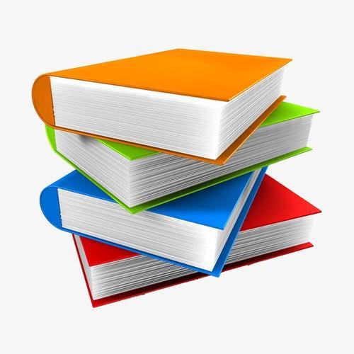 书籍课本免抠矢量图