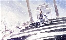冬日雪景配图
