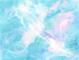 水彩画背景图片