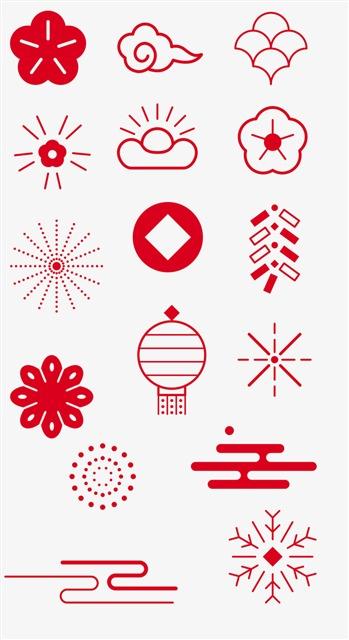 新年创意图案合集