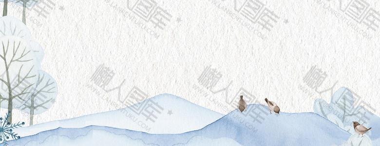 文艺清新白色banner