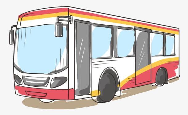 卡通公交车